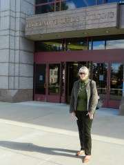 Reporting from the State Capitol - Legislative Office Building - October 2013.