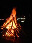 Old Fashioned bonfire.
