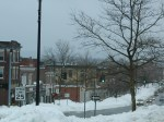 Downtown Manchester, Conn. two days after Blizzard Charolette/Nemo.
