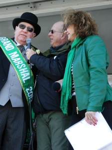 2013 Parade Grand Marshal Jim Mulcahy interviewed.