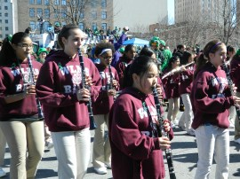 Windsor Locks Middle School Band.