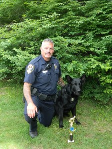 Officer Steve Vesco and his K-9 partner Iko, of the Windsor, Connecticut Police Department, were among the top finishers at the 2013 Region 4 USPCA trials.