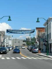 Downtown Mystic village.