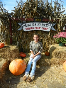 Alex Connor, 15, is the sixth generation to work at her family farm, Brown's Harvest in Windsor , CT.