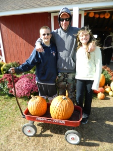 For the Massaro Family of Windsor Locks, Zack, Rich & Lexi -Brown's Harvest is an annual tradition.