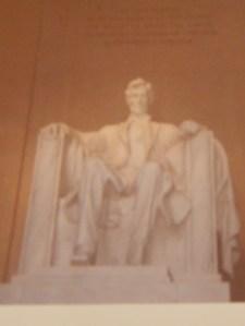 Lincoln Memorial Washington, D.C. photo by Jacqueline Bennett