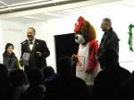 Mayor Leo Diana thanked event sponsors.