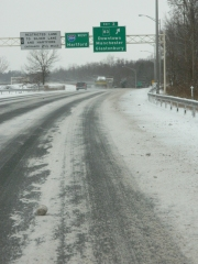 The 384 connector to Hartford.