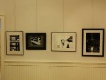 A row of black & whites.