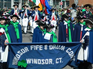 Windsor Fife & Drum Corps Marches Faithfully each year.