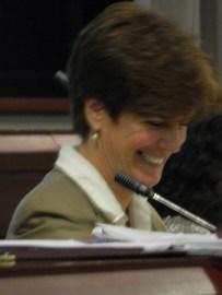 Moderator Susan Campbell.