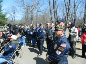 Veterans attended.