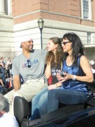 Former UConn basketball star Donny Marshall.