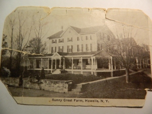 Sunny Crest Farm was owned and operated by the Bennett Family.