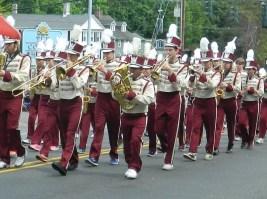 Farmington High School Marching Band.