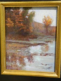 Best in Show -Bolton Pond, pastel by Jane Penfield.