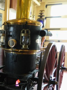 This steam engine is one of two of its model still in existence.