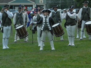 The Colchester Continentals hold a fife and drum corps muster annually on the fourth Saturday in July.