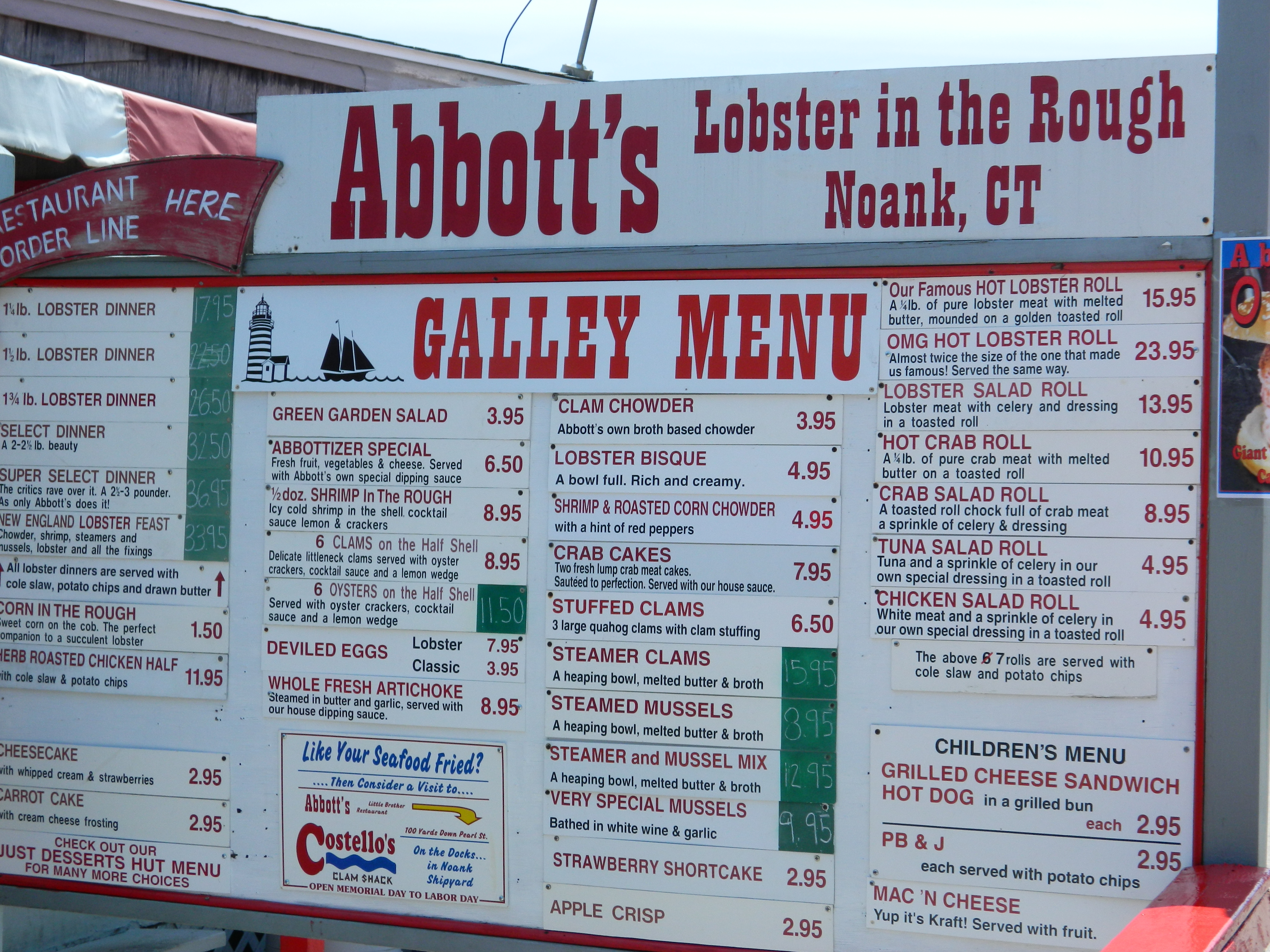 Destination: Abbott's Lobster in the Rough | newsandviewsjb