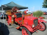 Antique firetruck.