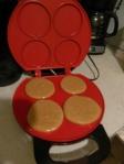 Making whoopie pies.