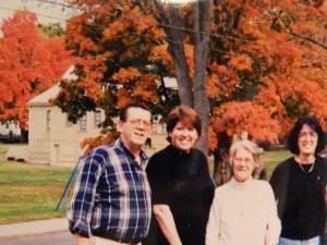 Glen Sr., Debbie, Mom and Candy.