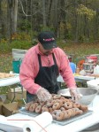 On-site donut-making by