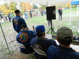 Viet Nam veterans turned out in support.