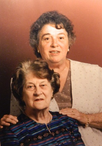 Olde English Tomato Relish in memory of her daughter Muriel has been added to Mom's Recipe Box. (Muriel and Mom)