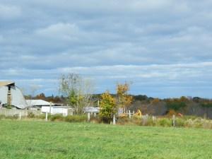 Farmland in rural Coventry, Conn. - photo by JB.