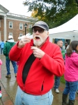 Bob Houle enjoying the 2014 Chili Challenge.