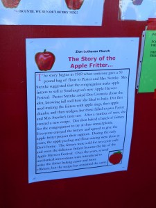The Story of the Apple Fritter.