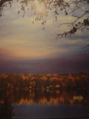 Photo by Michelle Larned: Autumn beauty apparent along Connecticut's Lake Hayward.