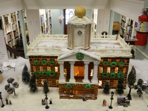 Connectciut Old State House - at the Wood Memorial Library 2014 Gingerbread House Exhibit.