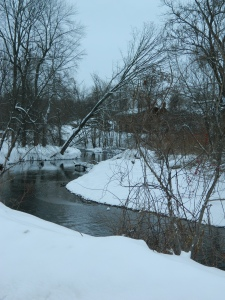 photo by Jacqueline Bennett Connecticut's  winding Hockanum River in winter shown on Feb. 9, 2015.