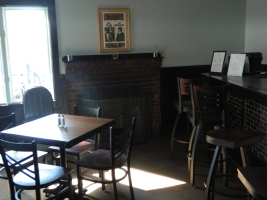 Billy's Grill also has a working fireplace - great for providing atmosphere after a round of golf.