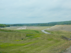 Photo by Jacqueline Bennett Bird's eye view of Windham Airport, North Windham, CT May, 2015,