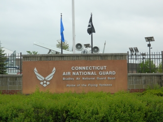 """Photo by Jacqueline Bennett Connecticut Air National Guard East Granby Base """"Home of the Flying Yankees"""" - May, 2015."""