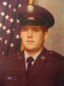 Glen Oliver Bennett, Jr. USAF 1981-1992. Glen Jr. served as an Aircraft Grounds Equipment Mechanic and during his tours of duty was recognized with an Outstanding Ground Equipment Mechanic of the Year Award. He was stationed in Rine Mine Germany and Fort Walton Beach, Florida.