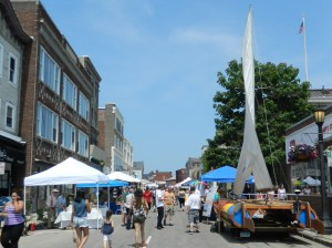 Strolling SailFest on Sunday, July 12, 3015.