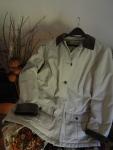 Ideal autumn attire - my treasured L.L.Bean barn jacket.