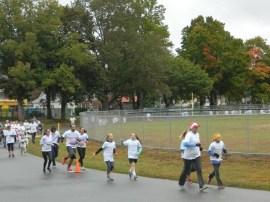 """2015 Color Craze"" 5K Run/Walk gets underway at Recreation Park in Willimantic/Windham, Connecticut on October 3."