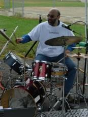 Drummer Geoff Wilson.