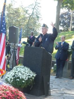 """I am Rob Simmons and I am proud to be a Vietnam veteran."""