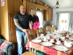 Photo by Jb - my niece Maryann and her boyfriend Tom.