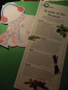 """Scents of the Season"" Oprah Magazine sidebar by Kate Rockwood."