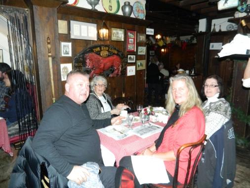 Widow Bingham's Tavern at the Red Lion Inn stockbridge, Massachusetts