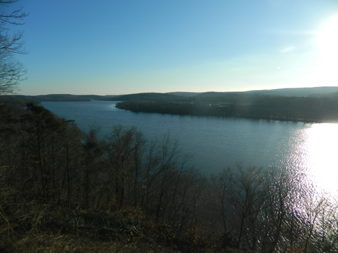 Connecticut River as seen from Gillette Castle in East Haddam, CT.