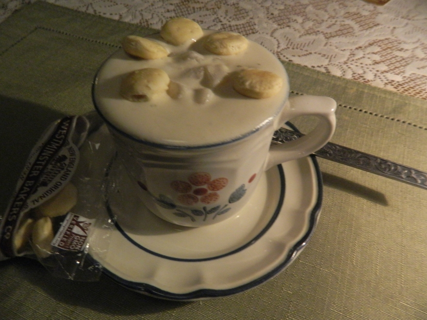 New England Clam Chowder - a tradition.