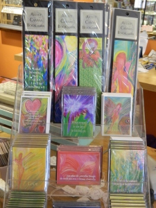 Some of Meg's original artwork -each one has a story.